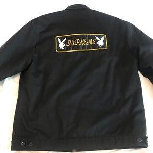 Men's Supreme x Playboy Jacket size XL